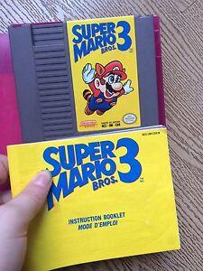 NES SUPER MARIO BROS 3 GAME