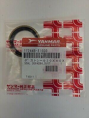 Yanmar 172448-81600 Dust Seal Vi017 Excavator
