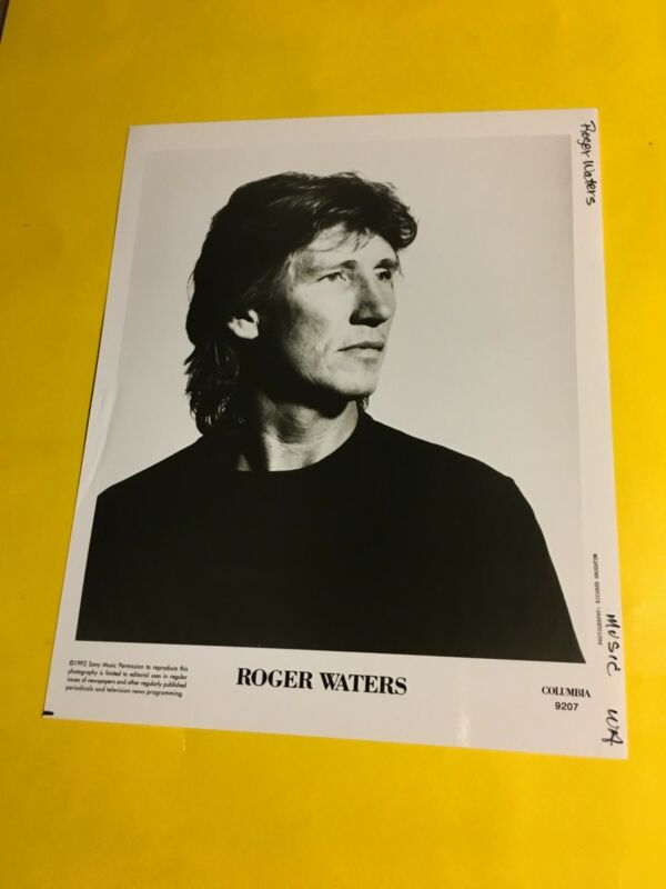 Roger Waters (Pink Floyd) Press Photo 8x10, Columbia Records 1992.