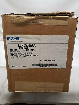 Eaton Cutler Hammer Ecn0501aaa 110v50 Hz-120v60 Hz Nema 1 Non-combination No