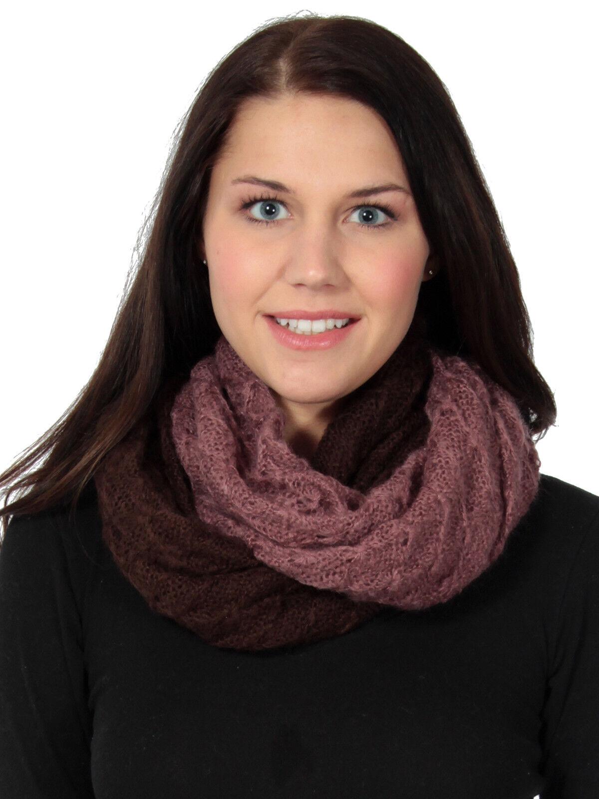 New Women Fashion Light Weight Infinity Warp Cowl Scarf Knit