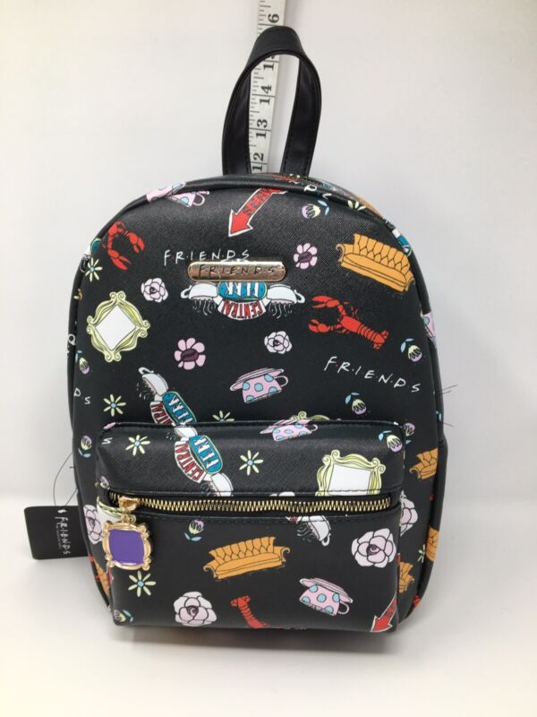 TV Show Friends Mini Backpack BNWT Bioworld F. R. I. E. N. D. S. Central Perk