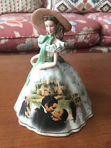 Gone with the wind figurine