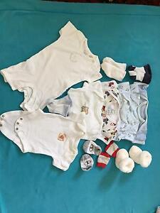 Bundle 0000 baby boys clothes bodysuit romper playsuit jumpsuit Manly Vale Manly Area Preview