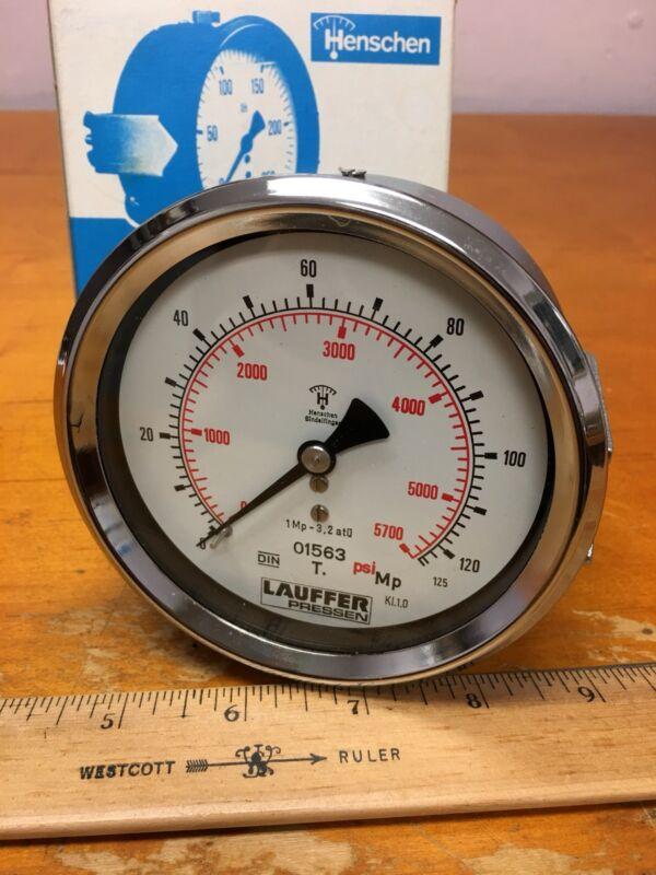 Henschen 91563 NG100 Manometer Pressure Gauge