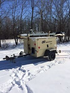2011 Ingersoll Rand 6kw S/A light plant / Generator