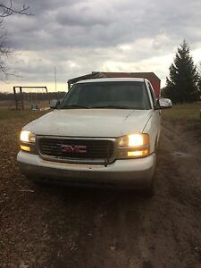 2001 GMC Sierra sle z71 parts or whole