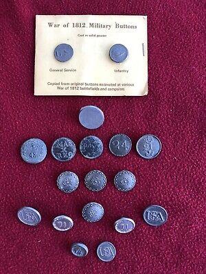 Revolutionary War Buttons