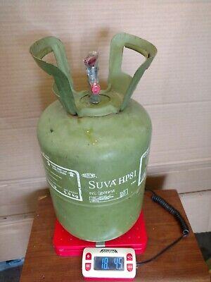 Dupont Suva Hp81 R402b Refrigerant 13 Lb Tank 18.45 Gross