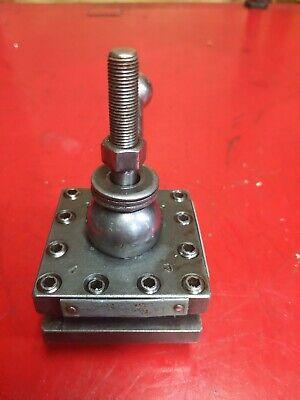 Enco Model 2 12 S Metal Lathe 4 Way Turret Tool Post