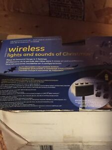 Wireless lights and sounds of Christmas