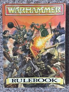 Vintage Warhammer Books, Rulebook & Dwarves Supplement