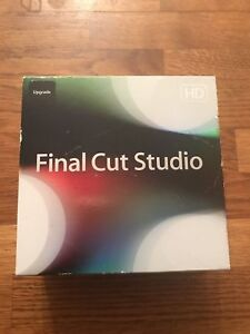 Apple Final Cut Pro 7 HD Studio 3 UPGRADE Box Complete with SERIAL NUMBER