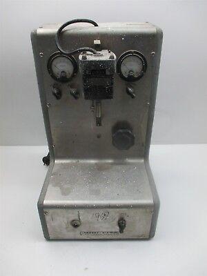Vintage Sargent Slomin Electrolytic Analyzer Laboratory Lab Test Collectible