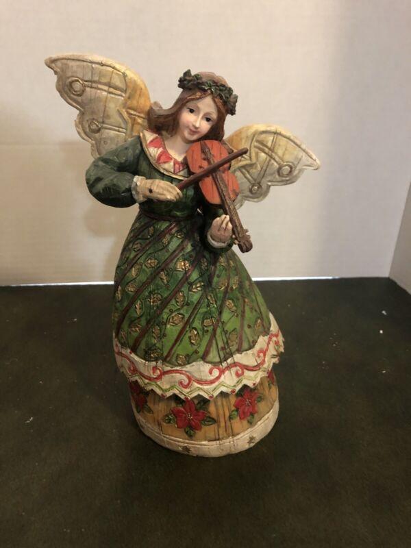 Christmas Angel With Violin