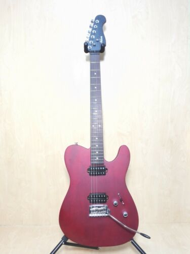 Kapok All-Mahogany Electric Guitar,H-H Pickups,Satin Wine-Red+Free Bag KA-TLSRD