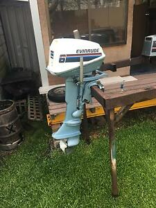 6hp evinrude boat motor Wallsend Newcastle Area Preview