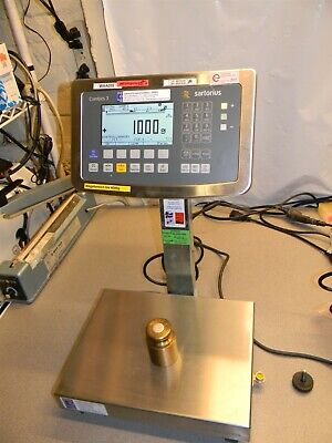 Sartorius Combics 3 Caw3p1-6dc-nce W Caapp1-6dc-nce 6kg Scale Base 0-6000g