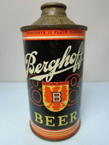 BERGHOFF IRTP CONE TOP BEER CAN #151-21 FORT WAYNE, INDIANA