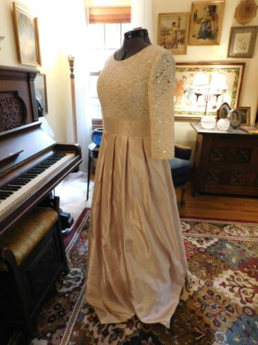 """GORGEOUS  """"JESSICA HOWARD"""" PALE PINK MOTHER OF THE BRIDE/GROOM/FORMAL GOWN S 12"""