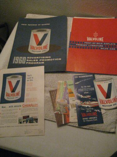 1969 Valvoline Motor Oil Framed 11x14 ORIGINAL Vintage Advertisement