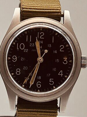 Vintage Hamilton Military Watch MIL-W-46374 B
