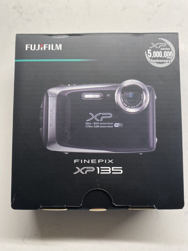 "New In Box Fujifilm FinePix 16.4MP Rugged Waterproof Action Camera 3"" LCD WiFi"