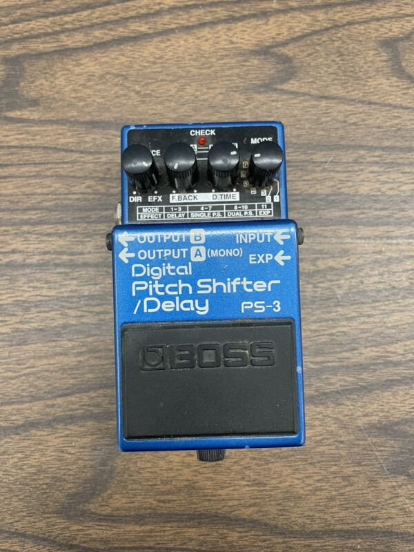 Boss PS3 PS-3 Pitch Shifter Delay