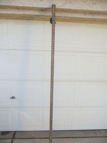 Chicago Steel Tape Measuring Surveying Pole Rod vintage