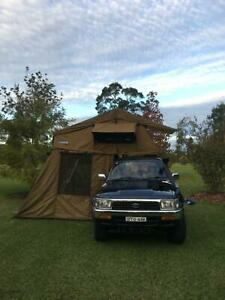 Toyota Hilux Surf 4WD with Rooftop Tent
