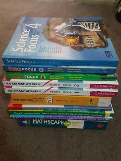 HIGH SCHOOL TEXT BOOKS FOR SALE REDUCED PRICES +FREE GUIDE BOOK