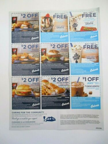 9 COUPONS Culver