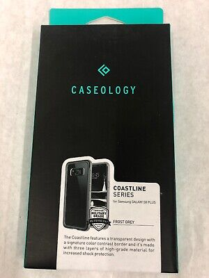 Caseology Coastline Series Case Samsung Galaxy S8 Plus Transparent [Frost Gray]
