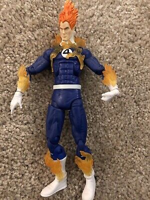 Marvel Legends Hasbro Ronan BAF Series Human Torch Action Figure (J)