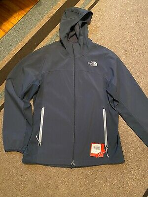 The North Face Men's Hooded Light Jacket Navy Blue Size M