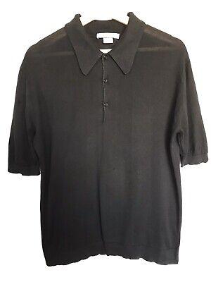 John Smedley Polo T- Shirt Size Small