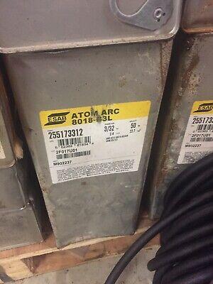 Esab Atom Arc 8018-b3l 332 Stick Welding Rod 50 Box Electrode 255173312