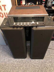 Realistic amp & Kenwood speakers.