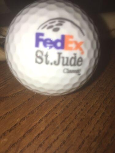 FedEx St. Jude Classic Golf Ball Golden Ram