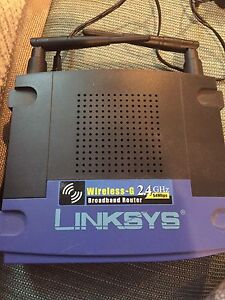 Linksys wireless router  Kitchener / Waterloo Kitchener Area image 1