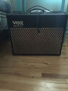 VOX AD50VT with audio technica wireless guitar system
