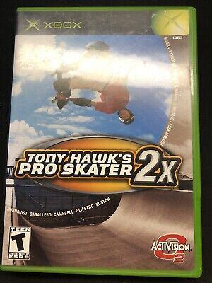 Tony Hawk's Pro Skater 2X (Xbox 2001) video game skateboard