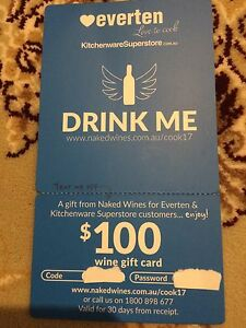 Wine gift card 100 Renmark Renmark Paringa Preview