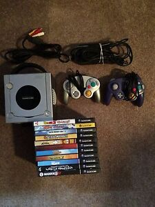 Nintendo GameCube Console With 11 Games