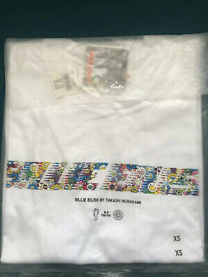 Billie Eilish x Takashi Murakami x Uniqlo UT Graphics T Shirt Tee White