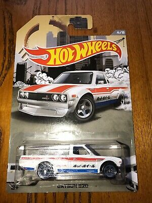 Hot Wheels Datsun 620 Truck White Series 4/8 Walmart Exclusive