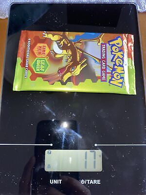 Pokemon EX Fire Red Leaf Green Sealed Booster Pack - CharizardArt HEAVY 17G!!!