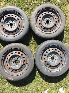 205 55 R16 all season tires for sale rims included