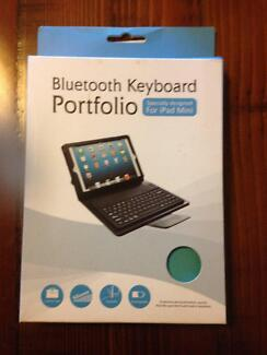 Bluetooth Wireless Keyboard Portfolio Case for iPad Mini NEW