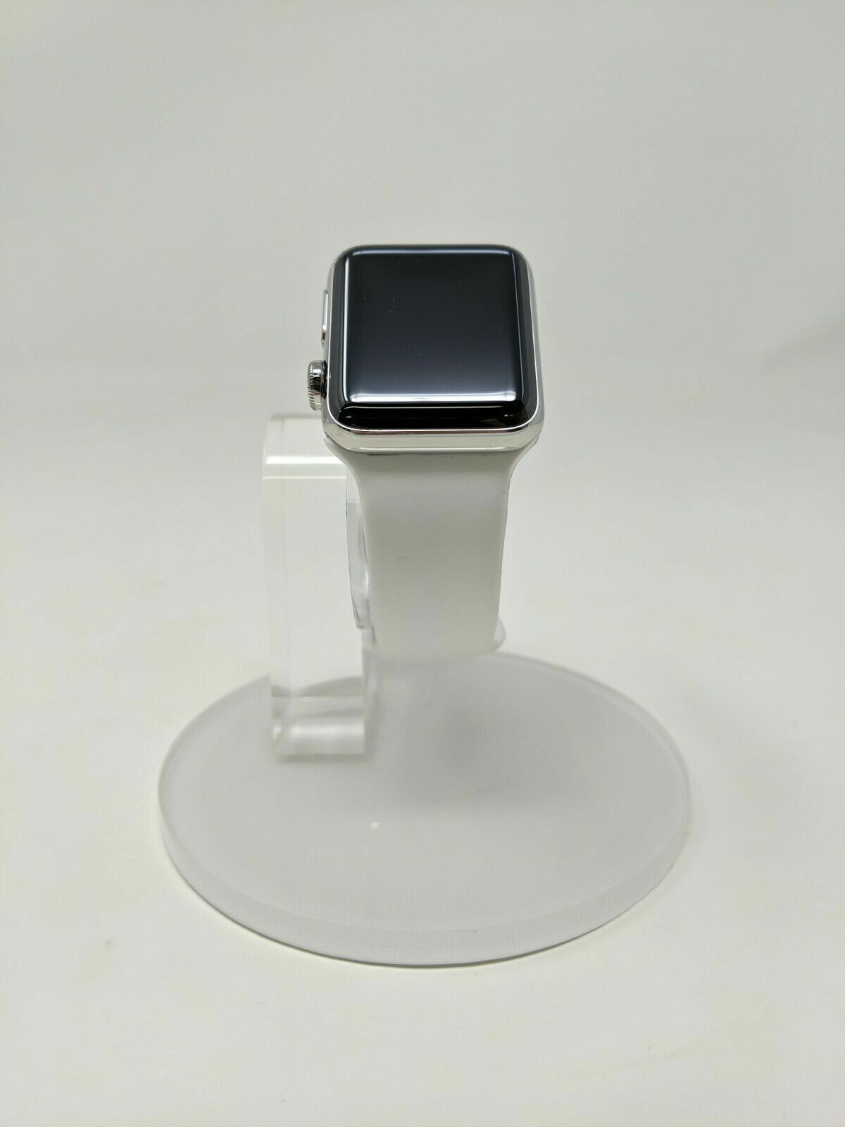 Apple Watch Series 2 Hermes 38mm Stainless Steel Case with White Sport Band